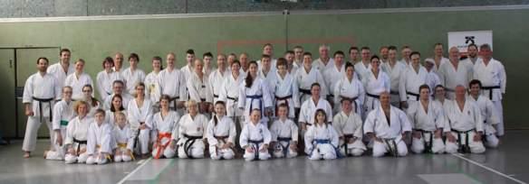 Fast 60 Teilnehmer beim Osterlehrgang in Bonn
