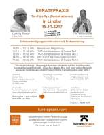Karatepraxis & Ten-Kyo-Ryu mit Ludwig Binder & Christian Wedewardt in Lindlar