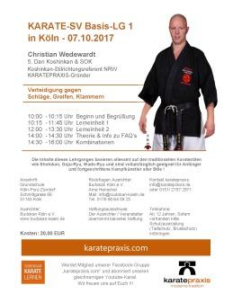 Karate-SV-Basis-LG 1 in Köln