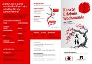 Das Karatepraxis Erlebniswochenende in Gerolstein ein Highlight 2017