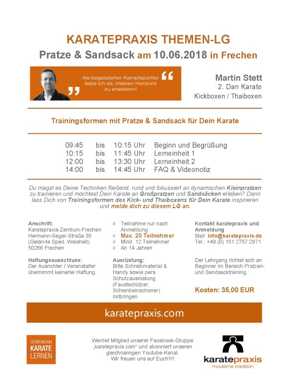 2018_06_10 TL Pratze & Sandsack