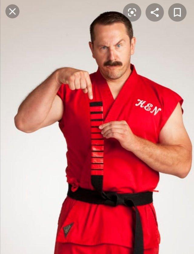 Master-Ken in Germany on the October Karatepraxis Retreat 2020